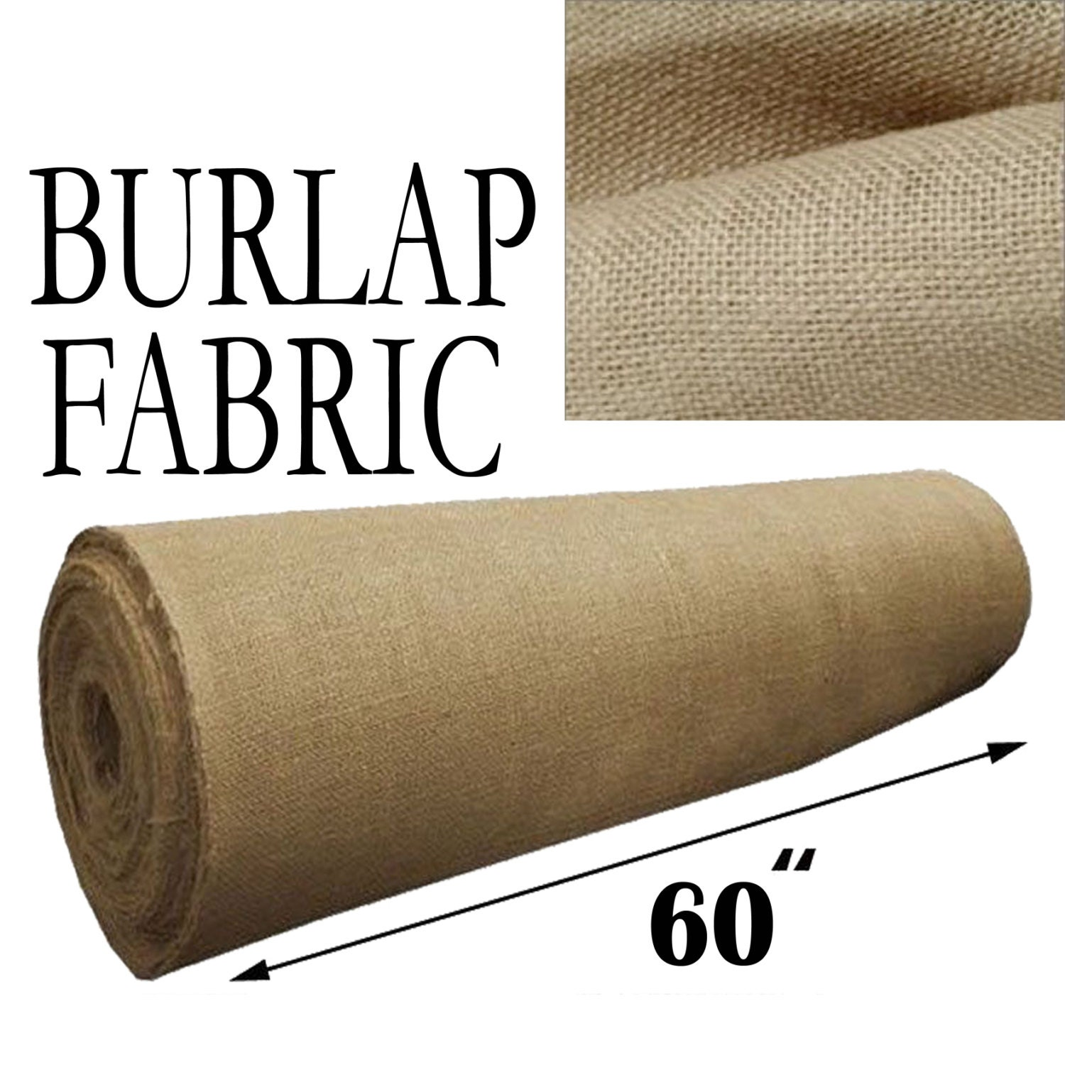 Burlap jute fabric 60 wide premium 10oz natural 10 for What is burlap material