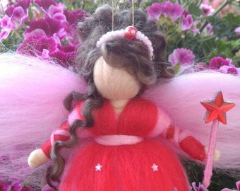 TOOTH FAIRY DENTOLINA of soft wool fairytale luck gift idea for girls