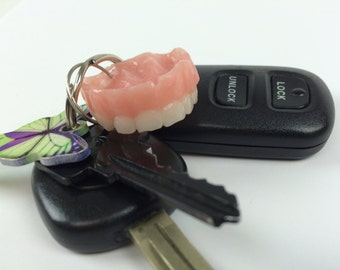 Mini 'Youth' Denture Keychain