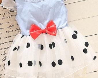 Minnie Mouse tea party dress