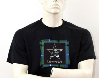 David Bowie t-shirt - Black Star - Bowie tribute t-shirt - Gifts for him