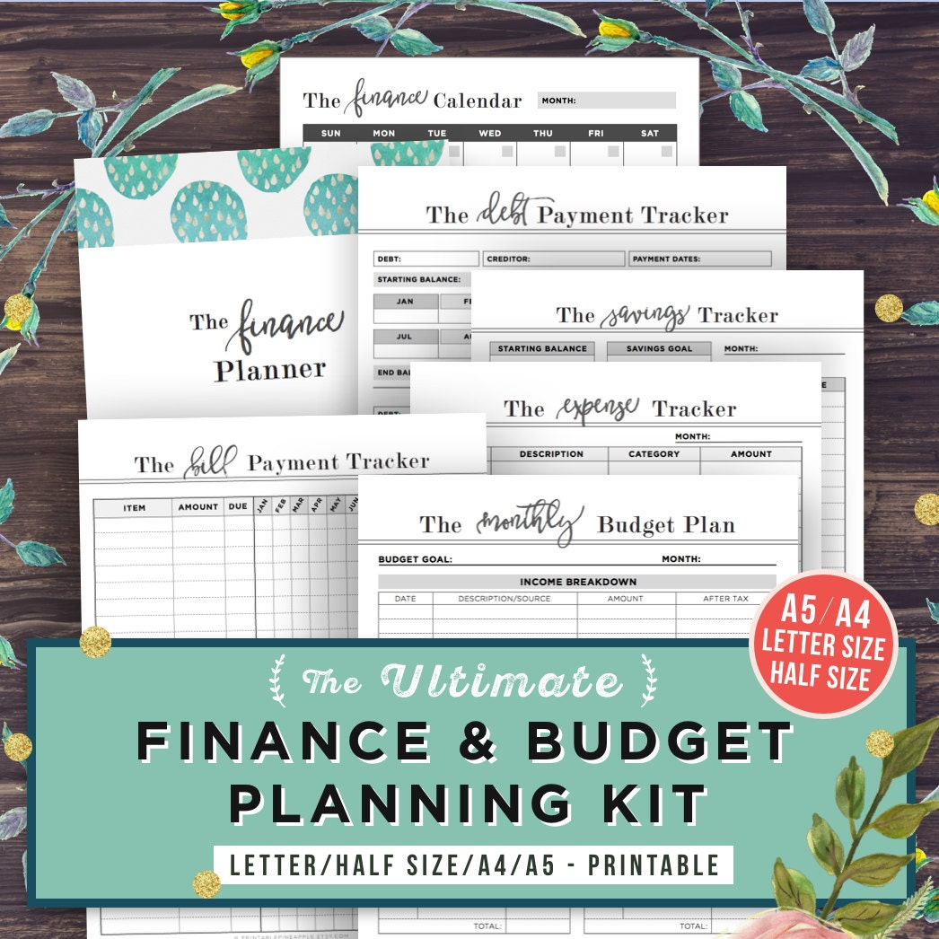 monthly budget book