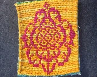 Flower Mandala Patch