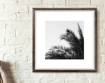 Printable art - Palm Tree. Instant download