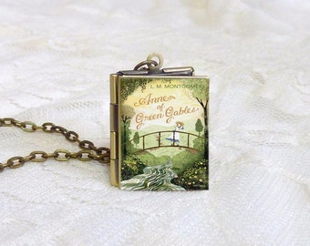 Anne of Green Gables Story Locket