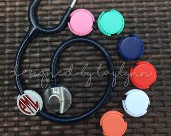 Nurse Stethoscope tags, Stethoscope Tags, Stethoscope ID Tag, Monogram Stethoscope ID Tag Covers, Nurse Stethoscope Monogram Tags,