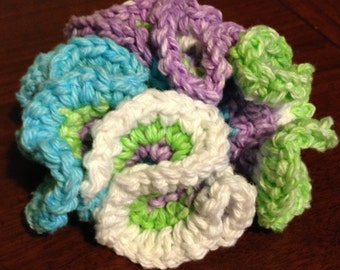 Cotton Bath Scrunchy