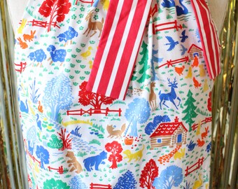 Farmhouse Fun: Bright and Colorful Tent Dress