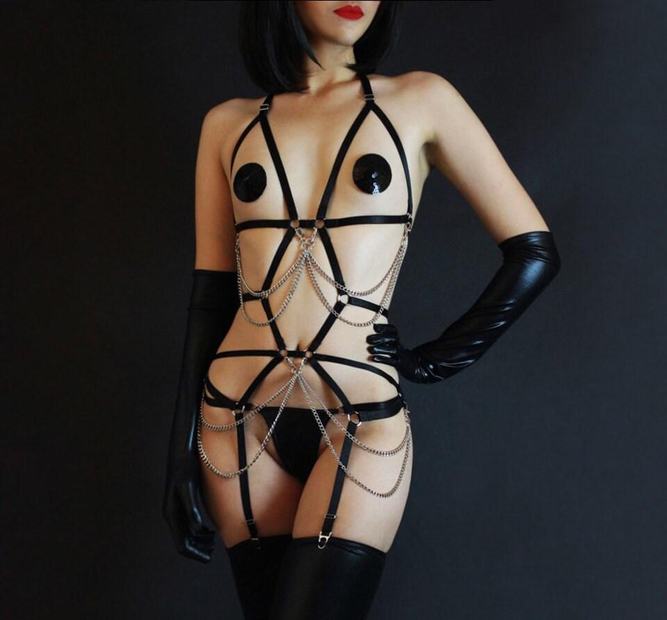 Japanese bondage harness-7911
