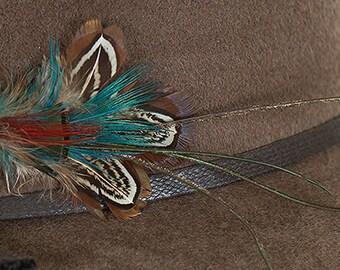 Trout Hat Brooch Pin/Art Deco Brooch/Vintage Hat Pins
