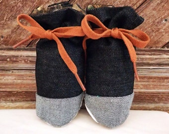 Itty Bitty Baby Booties- The Liam