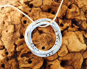 Family Rings Necklace