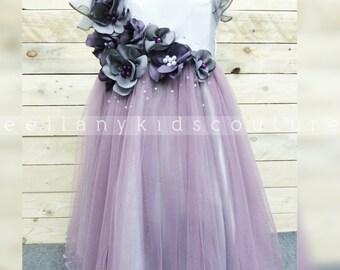 Exclusive Custom Made Flower Tutu Dress