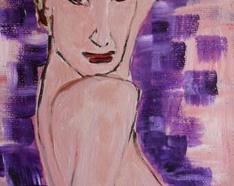 Joeline - Acrylic Painting - Original Work