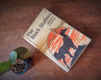 Original The Black Stallion by Walter Farley, Silverback Edition, 1972, Hardcover, Vintage, Childhood Memories, Unusual Gift, classic book