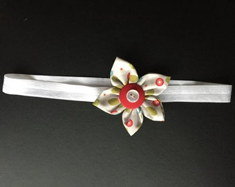 Adult Headband with button center