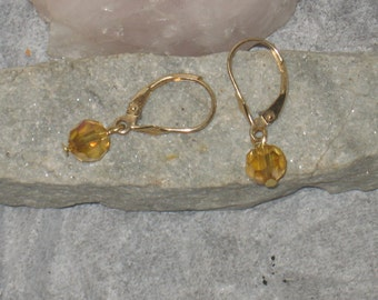Gold Evening-14k Gold with leaf