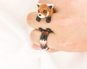 Red Panda Ring
