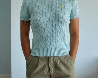 Size sm ralph lauren baby blue shirt