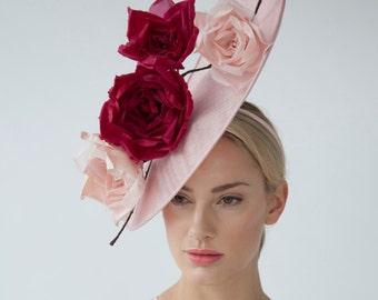 SCULPTED ROSES HAT