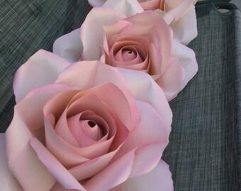 Paper flowers decoration