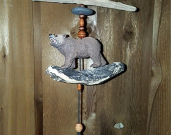 Grizzly Bear Porch Hanger