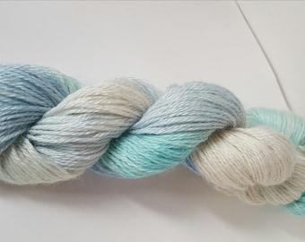 Frozen Sparkle Sock Yarn - Merino Wool