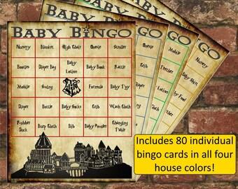 Harry Potter Baby Shower Bingo