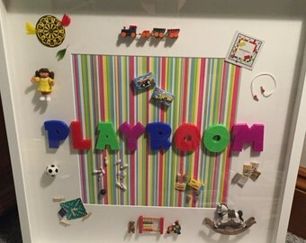 Themed Room Personalised Toy Gift Frame