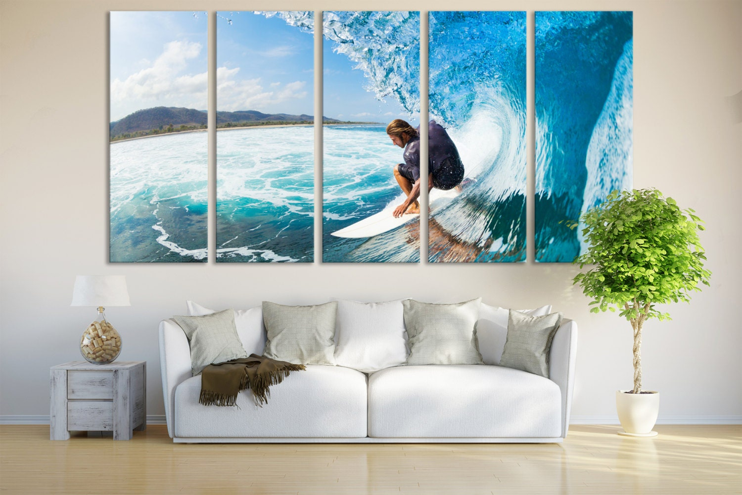 Surfing Wall Art Ocean Surfing Home Decor Photography