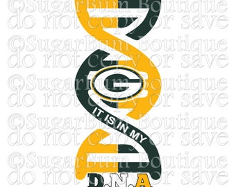 It is in my DNA Football NFL - Green Bay Packers svg