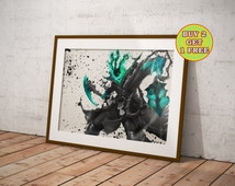 League of Legends, Thresh, Lol Poster, League of Legends Poster, League of Legends Art, League of Legends Canvas,Gifts, OC-640