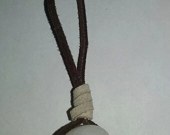 Milky Quartz Stone Necklace