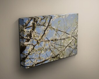 Wall Canvas, Flowering Tree