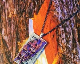 Lauryn Hill Doo Wop Pendant Necklace