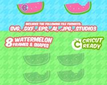 Watermelon svg, Preppy, Summer svg, fruits design, screen printing, SVG, DXF, EPS, Cutting File, Silhouette, Die Cut Machines, Cricut