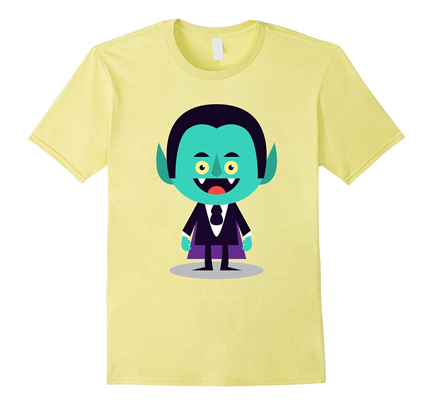 T Shirts Cartoon Characters : Funny dracula halloween t shirt cartoon character vamp