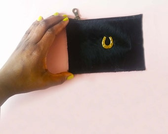 Lucky horse Shoe Pouch