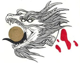 Head of a Dragon [Original]