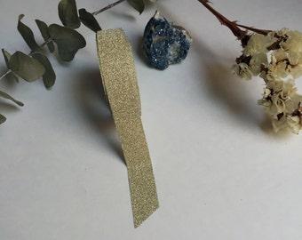 Gold Glitter Washi Tape