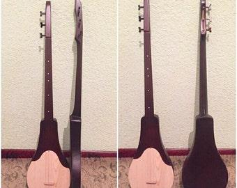 traditional ethnic musical instrument komuz