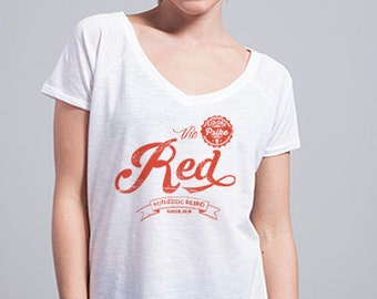 RED Retro t-shirt