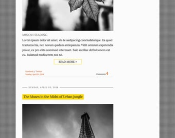Premade Blogger Template Responsive Minimal Blogspot for Lifestyle, Fashion, Book, Travel, Food Blogger with Free Installation - CrissCross
