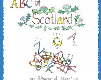 ABC of Scotland Rhyming Picture Guide Book of Scotland