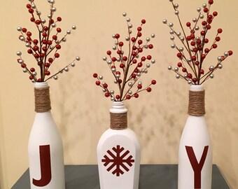 JOY Christmas Centerpiece