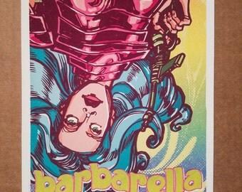 Barbarella Queen of the Galaxy Jane Fonda Movie Poster