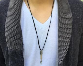 Leather Arrow Necklace