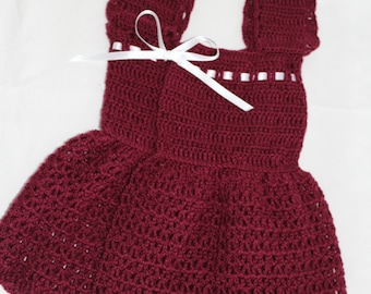 Pretty in Raspberry Baby Dress
