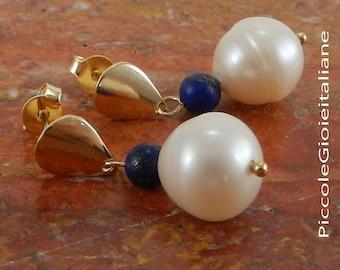Pearl studs. Wedding earrings. Modern earrings with pearls. Bridesmaid Earrings pearl earrings and Silver 925.. Handmade earrings.