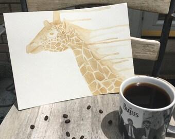 Custom Coffee Painting